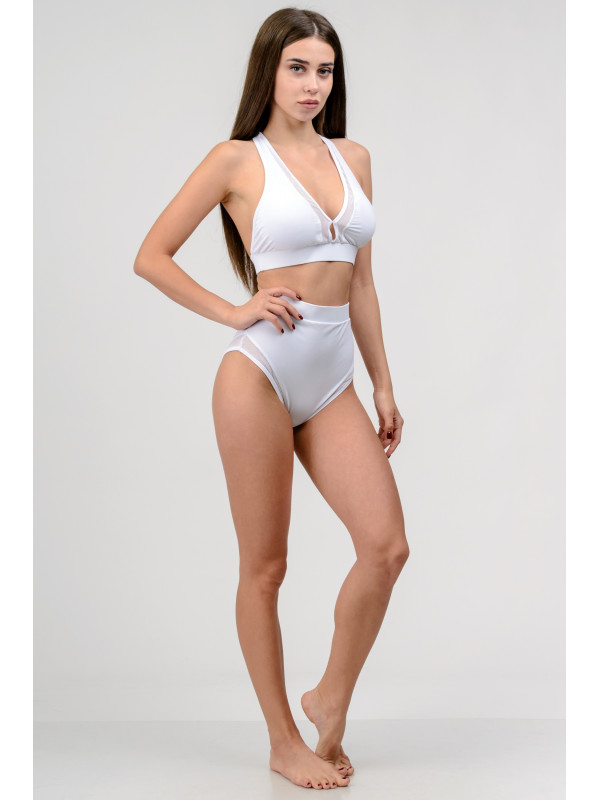 Женский раздельный купальник с чашечками Go Fitness