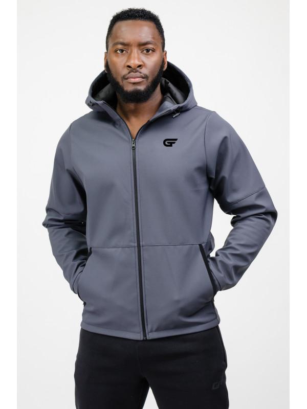 Мужская спортивная куртка grey Go Fitness